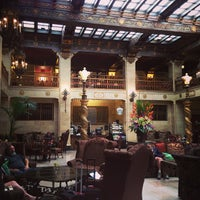 Photo taken at The Davenport Hotel by Rich F. on 7/12/2013