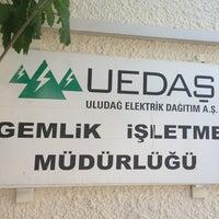 Photo taken at Gemlik Tedaş by nahit k. on 6/19/2013