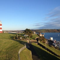 Photo taken at Plymouth Hoe by Amelia B. on 3/17/2013