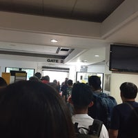 Photo taken at Gate 2 by Louie D. on 1/7/2017