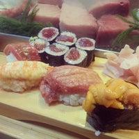 Photo taken at Daiwa Sushi by Min K. on 1/17/2013