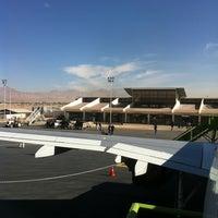 Photo taken at Aeropuerto El Loa (CJC) by Juan Pablo B. on 2/20/2013
