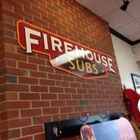 Photo taken at Firehouse Subs by Tom B. on 5/10/2013