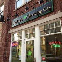 Photo taken at TeaBuds Brewing Co. by Tom B. on 3/14/2013