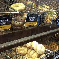 Photo taken at Einstein Bros Bagels by Tom B. on 6/29/2014