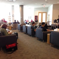 Photo taken at Delta Sky Club by Tom B. on 9/13/2013