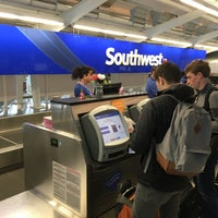 Photo taken at Southwest Ticket Counter by Tom B. on 11/29/2015