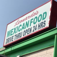 Photo taken at Leonardo's Mexican Food by Tom B. on 8/12/2018