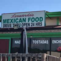 Photo taken at Leonardo's Mexican Food by Tom B. on 6/24/2018