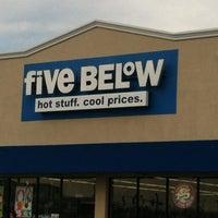 Photo taken at Five Below by Brandon M. on 12/12/2012