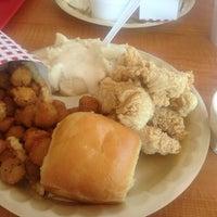 Photo taken at Bush's Chicken by Jamie C. on 7/7/2013