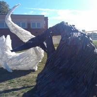 Photo taken at Hubbell Elementary School by Tim D. on 9/22/2012