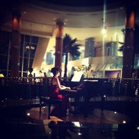 Photo taken at Palm Court by 5alid M. on 9/14/2012