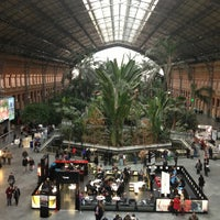 Photo taken at Madrid-Puerta de Atocha Railway Station by Alberto F. on 2/21/2013