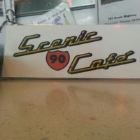 Photo taken at Scenic 90 Cafe by Frank B. on 2/25/2014