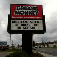 Photo taken at Grease Monkey by Christopher D. on 10/27/2012