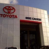 Photo taken at Mike Calvert Toyota by Mike C. on 12/9/2013