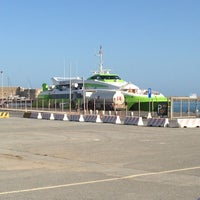 Photo taken at Port of Heraklion by Adam N. on 5/24/2013