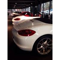 Photo taken at Porsche Zentrum Ingolstadt by Emre Y. on 2/13/2015