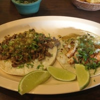 Photo taken at Taqueria Los Charros by Juca on 11/21/2012