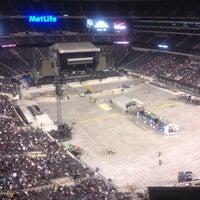 Photo taken at Verizon Corner Suite - MetLife Stadium by Dave T. on 9/23/2012