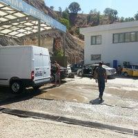 Photo taken at Tunceli Oto Yikama by Ali G. on 8/1/2013