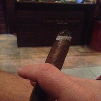 Photo taken at Cuban Seed Cigar Co. by Dave S. on 4/4/2014