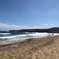 Photo taken at Potamos Beach by Ellen K. on 5/31/2018