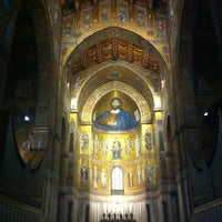 Photo taken at Duomo di Monreale by SalvoT on 12/21/2012