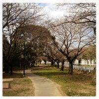 Photo taken at 富岡総合公園 by Ken3 on 3/17/2013