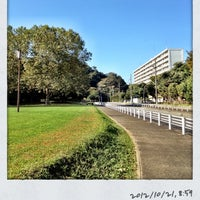 Photo taken at 富岡総合公園 by Ken3 on 10/21/2012