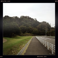 Photo taken at 富岡総合公園 by Ken3 on 10/14/2012