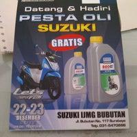 Photo taken at Suzuki IJMG Bubutan by Heru S. on 12/22/2012