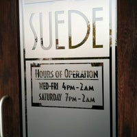 Photo taken at Club Suede by Mark C. on 10/18/2012