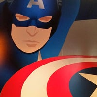Photo taken at Captain America: The Living Legend and Symbol of Courage by Sharon C. on 3/12/2015