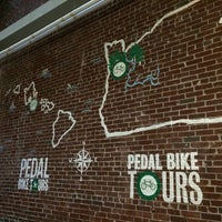 Photo taken at Pedal Bike Tours by Wendy G. on 10/25/2014
