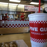Photo taken at Five Guys by Rafael F. on 2/23/2015