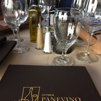 Photo taken at Osteria Panevino by Cyn V. on 5/6/2016