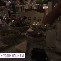 Photo taken at Yosun Balık Restoran by Özgür T. on 7/22/2017