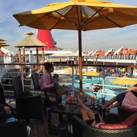 Photo taken at Carnival Imagination Lido Deck by Phillip K. on 11/20/2017