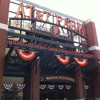 Photo taken at Willie Mays Gate by Phillip K. on 10/23/2012