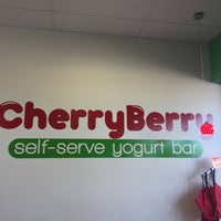 Photo taken at CherryBerry Yogurt Bar by Edward M. on 3/19/2017