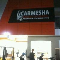 Photo taken at CARMESHA recording & studio by Diidiiet calista on 8/15/2013