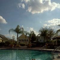 Photo taken at Discovery Palms Pool by Jillian Z. on 1/26/2012