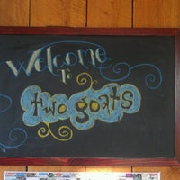 Photo taken at Two Goats Brewing by Greg H. on 8/20/2011