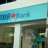 Photo taken at RHB Bank Berhad by Roduz H. on 2/1/2012