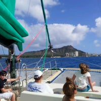 Photo taken at Maita'i Catamaran by nai n. on 12/25/2011