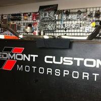 Photo taken at Peidmont Custom Motor Sports by Jay D. on 7/12/2011