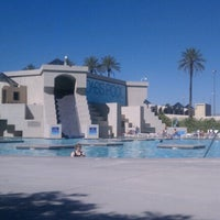 Photo taken at Oasis Pool by Lisa L. on 6/12/2012