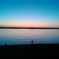 Photo taken at Old Embankment (1st Line) by Владимир Т. on 5/28/2012
